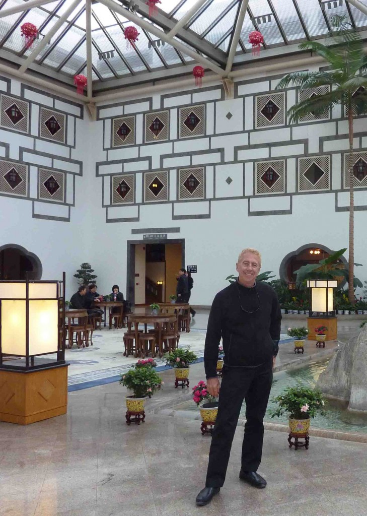Steven Pinkert Fragrant Hills hotel