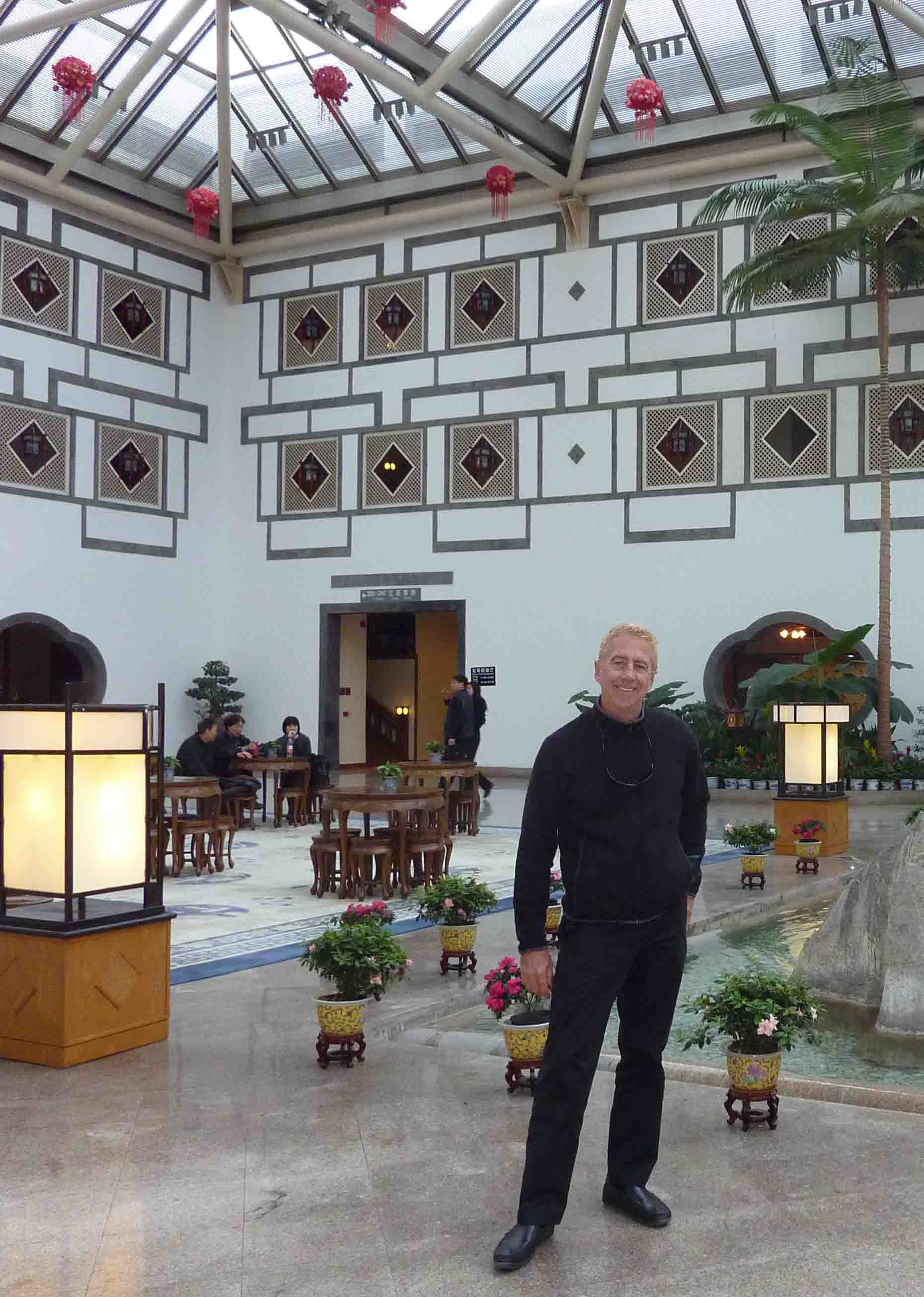 Steven Pinkert In Fragrant Hills Park And Nala Restaurant