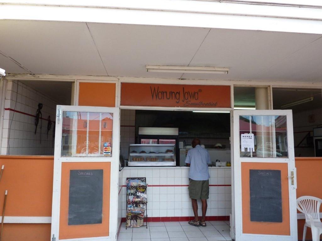 Warung Jawa Restaurant in Curacao - Copyright 2012 Steven Pinkert